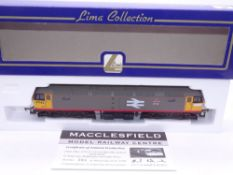 OO GAUGE - A Lima Class 47 diesel locomotive, 47142 Traction, in Railfreight livery, #205 of 500 (