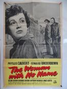 THE WOMAN WITH NO NAME (1950) - UK One Sheet Film