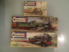 OO GAUGE - A group of three Kitmaster unbuilt kits as lotted. Unchecked but appear complete. VG in G