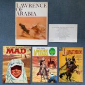 LAWRENCE OF ARABIA (1963) LOT (5 in Lot) - FIRST RELEASE - To include US Souvenir Brochure (1963)