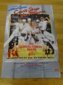 """CAN'T STOP THE MUSIC (1980) - Large Format 60"""" x 40"""" British film poster - 60"""" x 40"""" (152.5 x 101."""