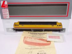 OO GAUGE - A Lima Class 47 diesel locomotive, 47803, in Infrastructure livery w/transfers, #396 of