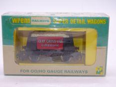 OO GAUGE - WRENN RAILWAYS P4 - W5503 CLAY CROSS ORE WAGON - LIMITED EDITION WITH CERTIFICATE - 175