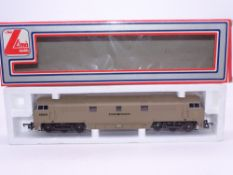 OO GAUGE - A Lima Class 52 diesel locomotive, D1023 Western Enterprise, in BR desert sand livery. VG