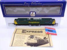 OO GAUGE - A Lima Class 57 diesel locomotive, 57001 Freightliner Pioneer, in Freightliner livery