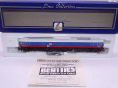 OO GAUGE - A Lima Class 59 diesel locomotive, 59003 Yeoman Highlander, in DB / Yeoman livery, #33 of