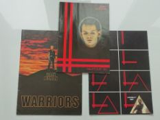 "GARY NUMAN - Lot of 3 - Tour programmes for the ""T"