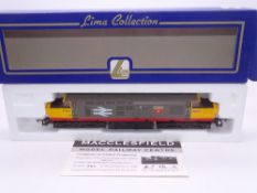OO GAUGE - A Lima Class 37 diesel locomotive, 37032 Mirage, in Railfreight livery, #205 of 500 (