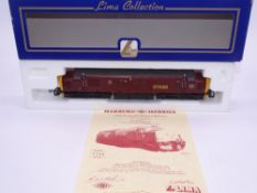 OO GAUGE - A Lima Class 37 diesel locomotive, 37428 Royal Scotsman, in EWS burgundy livery, #399