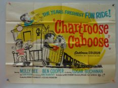 """CHARTROOSE CABOOSE (1960) - UK Quad Film Poster - 30"""" x 40"""" (76 x 101.5 cm) - Folded (as issued) +"""