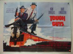 TOUGH GUYS (1986) - British UK Quad - BURT LANCASTER - KIRK DOUGLAS - Folded (as issued) - Near