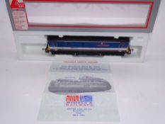 OO GAUGE - A Lima Class 73 electro-diesel locomotive, 73126 Kent & East Sussex Railway, in Network