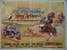THE SPACEMAN & KING ARTHUR (1979) - FIRST RELEASE - Brian Bysouth artwork - UK Quad Film Poster -