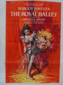 """THE ROYAL BALLET (1960) - UK One Sheet Film Poster- (27"""" x 41"""" - 68.5 x 104 cm) Film about The Royal"""
