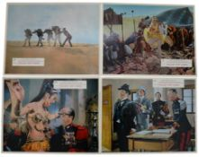 CARRY ON FOLLOW THAT CAMEL (1967) - Complete set of 8 x British Lobby Cards with original liveried