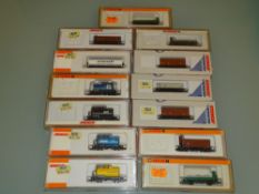 N GAUGE - A group of German outline wagons by Arno