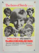 "MILLION DOLLAR DUCK (1971) Lot of 2 - British Double Crown (20"" x 30"" - 51 x 76 cm) and UK Quad FILM"