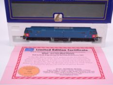 OO GAUGE - A Lima Class 47 diesel locomotive, D1733, in XP64 livery (red panel), #249 of 290 (