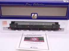 OO GAUGE - A Lima Class 40 diesel locomotive, D210 Empress of Britain, in BR green livery, #470 of