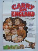 "CARRY ON ENGLAND (1976) - UK/International One Sheet Movie Poster - (27"" x 40"" - 68.5 x 101.5"