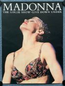 "MADONNA (1994) - Official USA Tour poster from Madonna's ""Girlie Show"" Tour in 1994 -18"" x 24"" (46 x"