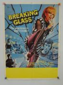BREAKING GLASS (1980) - British Flyer film poster