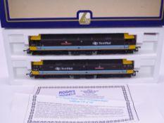 OO GAUGE - A Lima Class 47 diesel locomotive pair, 47713 Tayside Region & 47714 Grampian Region,