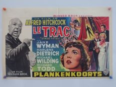 STAGE FRIGHT (1960's Release) - ALFRED HITCHCOCK -