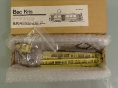 HO GAUGE - A Bec Kits Den Haag Dutch tramcar kit p