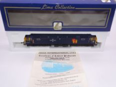 OO GAUGE - A Lima Class 47 diesel locomotive, 47145 Merddin Emrys, in Tinsley Euro Blue livery, #799