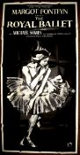"""THE ROYAL BALLET (1960) - UK Three Sheet Film Poster- (40"""" x 80"""" – 101.6 x 203.2 cm) Film about"""