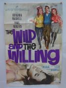 """THE WILD AND THE WILLING - (1962) UK/International One Sheet Movie Poster - (27"""" x 40"""" - 68.5 x"""