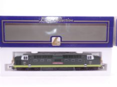 OO GAUGE - A Lima Class 55 Deltic diesel locomotive, D9005 The Prince of Wales's Own Regiment of