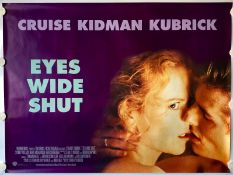 "EYES WIDE SHUT (1999) - UK Quad - STANLEY KUBRICK - TOM CRUISE & NICOLE KIDMAN - (30"" x 40"" - 76 x"