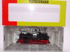 HO GAUGE - A Fleischmann German BR76 steam locomot