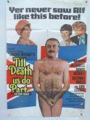 TILL DEATH US DO PART (1968) - UK / British one Sheet Movie Poster - Warren Mitchell as Alf Garnet -