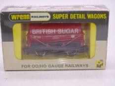 OO GAUGE - WRENN RAILWAYS P4 - W5110 4 WHEEL TANK WAGON 'BRITISH SUGAR' - UNLIMITED LIMITED