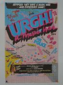 URGH: A MUSIC WAR (1981) British Double Crown - Mu