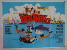 "BOATNIKS (1970) - UK Quad Film Poster (30"" x 40"" - 76 x 101.5 cm) - Folded (as issued) - Very Good"