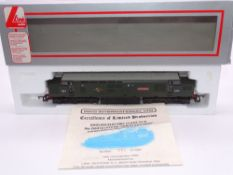 OO GAUGE - A Lima Class 37 diesel locomotive, D6916/37216 Great Eastern, in BR Green livery, #397 of