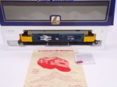 OO GAUGE - A Lima Class 37 diesel locomotive, 37188 Jimmy Shand, in Large Logo blue livery, w/