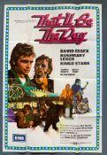 THAT'LL BE THE DAY (1973) One Sheet film poster - DAVID ESSEX - RINGO STARR - Arnaldo Putzu