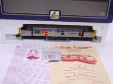 OO GAUGE - A Lima Class 37 diesel locomotive, 37401 Mary Queen of Scots, in Distribution sector