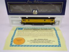 OO GAUGE - A Lima Class 73 electro-diesel locomotive, 73901, in Merseyrail livery, #433 of 500 (