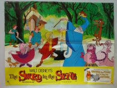 SWORD IN THE STONE (1983 Release) - UK Quad Film P