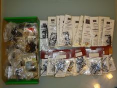 HO GAUGE - A large quantity of accessories by Bemo
