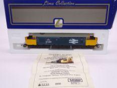 OO GAUGE - A Lima Class 37 diesel locomotive, 37209 Phantom, in Large Logo blue livery, #160 of