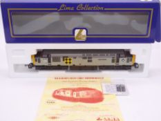 OO GAUGE - A Lima Class 37 diesel locomotive, 37693 Sir William Arrol, in Coal sector livery w/