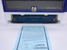 OO GAUGE - A Lima Class 52 diesel locomotive, D1023 Western Fusilier, in BR Blue livery, #295 of 480