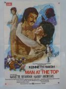 "MAN AT THE TOP (1973) - British One Sheet Movie Poster - HAMMER - 27"" x 40"" (68.5 x 101.5 cm) -"